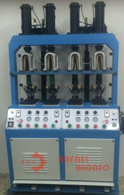 Máquina moldear talones,4 p.,calor(1)