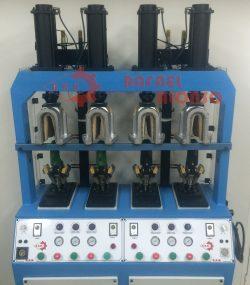 Máquina moldear talones,4 p.,calor(2)