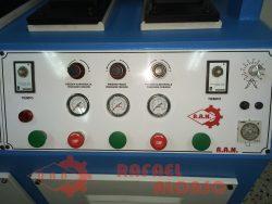 Máquina moldear talones,4 p.,calor(4)