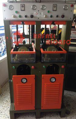Máquina pegar suelas,2 puestos PASANQUI S-501