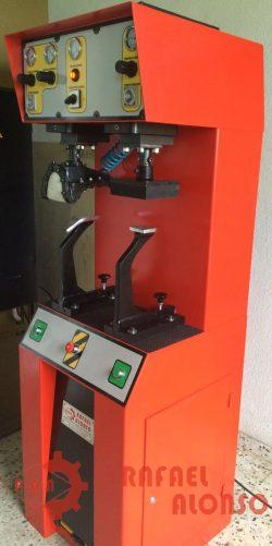 Máquina reparar suelas de calzado