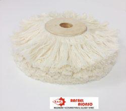 Cepillor pulir hilo algodón blanco(2)