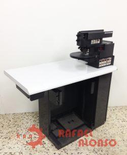 Máq.doblar electrónica cortes de calzado COM42 1