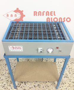 Reactivador calor seco con mesa RAN2