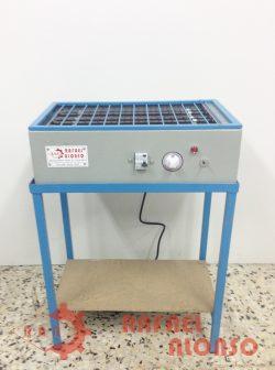 Reactivador calor seco con mesa RAN3