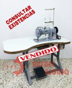 Máq.coser plana triple arrastre ADLER 1VENDIDA