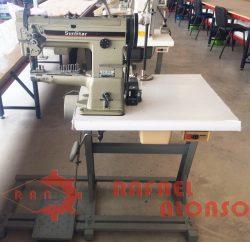 Máq.coser de brazo,triple arrastre SUNSTAR 1