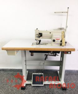 Máq.coser triple arrastre SUNSTAR K-M560 2