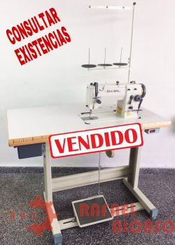 Máq.coser zig-zag plana GLOBAL ZZ509 1 VENDIDO