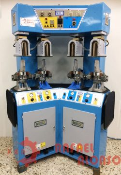 Máq.moldear talones-contrafuertes,calor-frío NORBA N88-CF 1