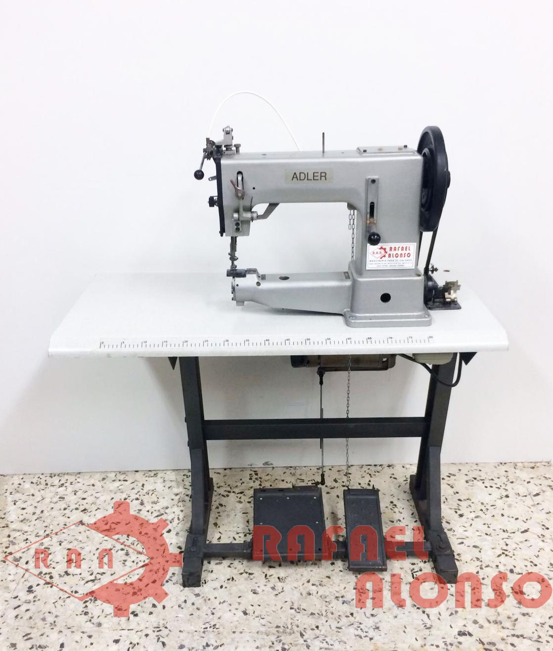 Ref.1214 Máquina de coser doble arrastre ADLER K205 (cosido extra ...