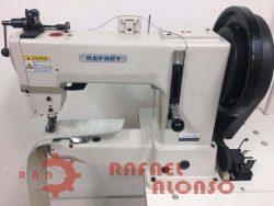 Máq.coser triple arrastre REFREY GA205-370 3
